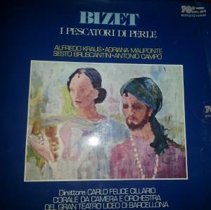 Bizet pescatori di perle copertina
